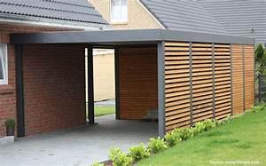 Faire Un Carport : comment fabriquer un carport en bois ~ Premium-room.com Idées de Décoration