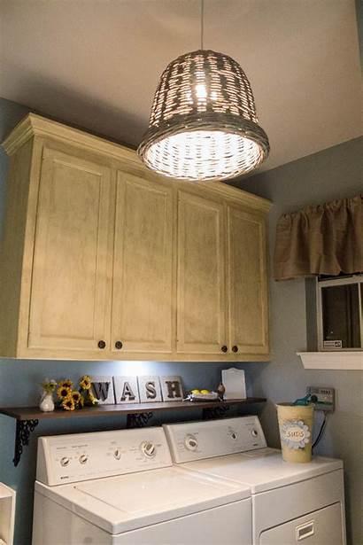 Laundry Fixtures Rooms Lighting Fixture Shelf Washer