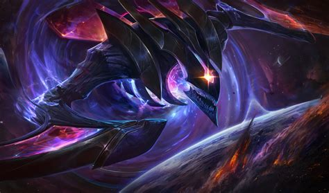 dark star khazix lol wallpapers