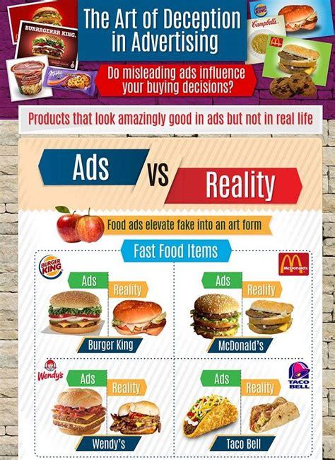 deceptive ad infographics false advertising