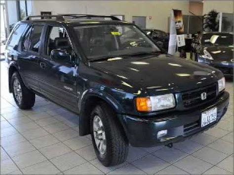 Get information and pricing about the 1999 honda passport, read reviews and articles, and find inventory near you. 1999 Honda Passport - Dublin CA - YouTube