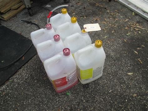 LOT OF Partial Chemstar Grease Cleaner Sanitizer Chemicals