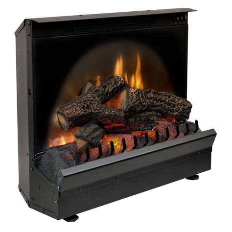 23 electric fireplace insert dimplex 23 inch standard electric fireplace insert log set
