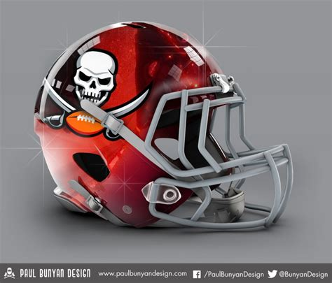 nfl helmets redesigned  ridiculous results