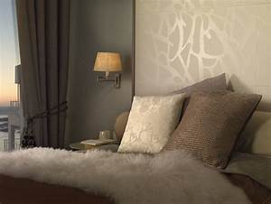 Tapeten Muster Wände : fliesen mit tapetenlook und textiloptik ~ Markanthonyermac.com Haus und Dekorationen