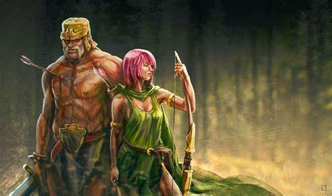 clash of clans archer
