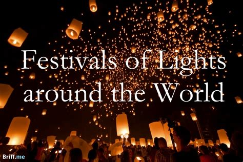 festival of lights how around the world celebrate