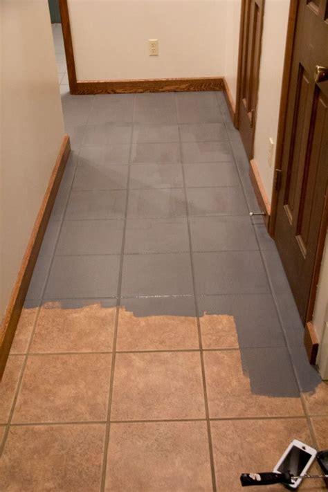 Faux Cement Tile Painted Floors  Fun Floors  Tile Floor