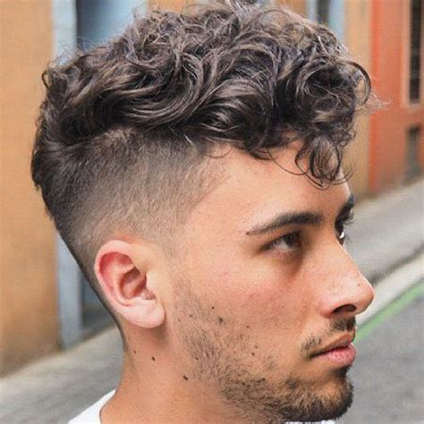 The Curly Hair Undercut   Men's Hairstyles   Haircuts 2018
