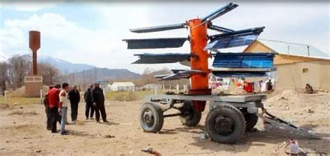 Инновационный проект вертикальный ветряк как двигатель судна