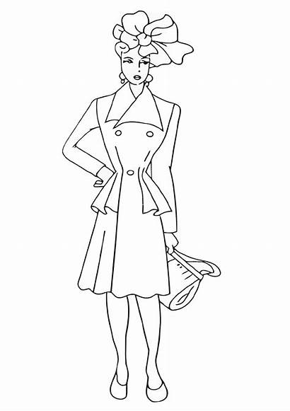 Coloring Pages Topmodel
