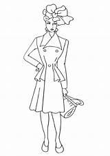 Coloring Topmodel Coloringway sketch template
