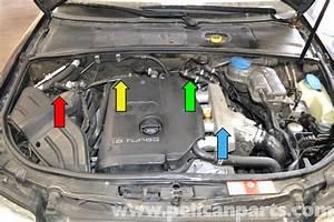 Audi A4 B6 Fixing Common Vacuum Leaks  2002