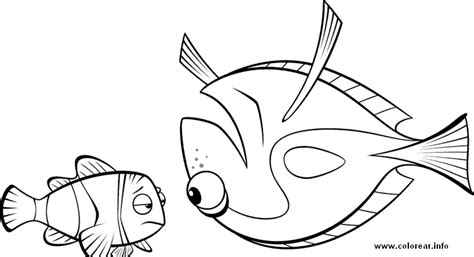 47 Finding Nemo Characters Coloring Pages To Save