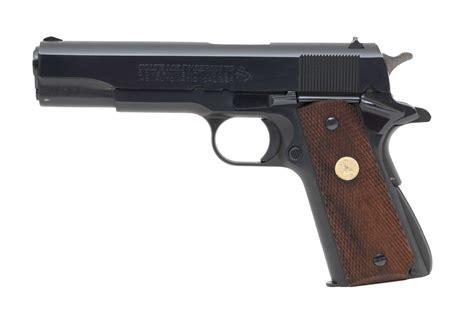 Colt Series 70 Government Model 45 Acp Caliber Pistol For