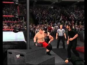 WWE 13 The Shield vs Brock Lesnar - YouTube