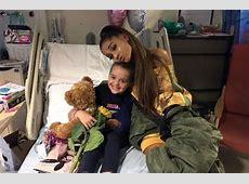 Nach dem Anschlag von Manchester Ariana Grande besucht