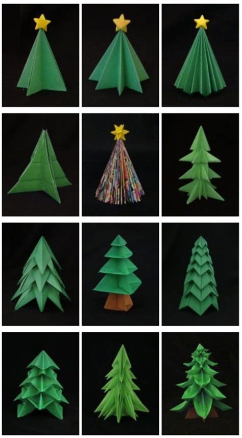 how to make brown paper christmas tree decorations 25 best ideas about origami on origami santa website and