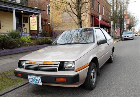 Mitsubishi 4 Door Cars by Parked Cars 1985 Mitsubishi Mirage Hatchback 3 Door
