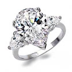 4.1 Carat Sterling Silver Jewelry CZ CZ Rings for Women Wedding Brand O anillos anel aneis Crystal Wholesale Jewelry 115