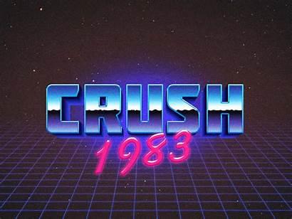 80s Retro Effect Psd Mockup Colors Ulule
