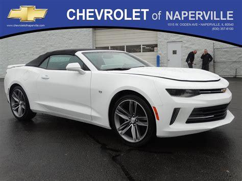 New 2018 Chevrolet Camaro Lt Convertible In Naperville