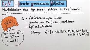 Größter Gemeinsamer Teiler Berechnen : ggt und kgv online lernen ~ Themetempest.com Abrechnung