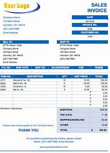 free excel invoice templates smartsheet With charge sales invoice