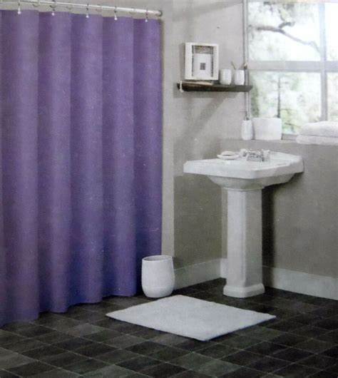 plastic shower solid purple bathroom vinyl plastic shower curtain liner