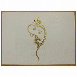 designer hindu wedding card with decorated ganesha With wedding cards pictures ganesha