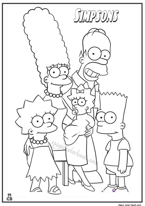 Homer Kleurplaat by The Simpsons Coloring Pages 14 Simpsons Zeichnungen