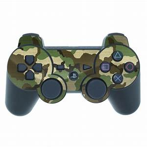 Woodland Camo PS3 Controller Skin // iStyles
