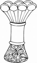 Vase Coloring Pages Printable Vases Adult Pottery Flowers Greek Getcoloringpages Vase2 Coloringpages Colorpagesformom Mother sketch template