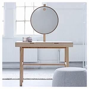 Miroir Pour Coiffeuse : phine coiffeuse avec miroir lumineux bloomingville ~ Teatrodelosmanantiales.com Idées de Décoration