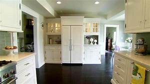 hgtv kitchen designs deductourcom With kitchen colors with white cabinets with robot canvas wall art