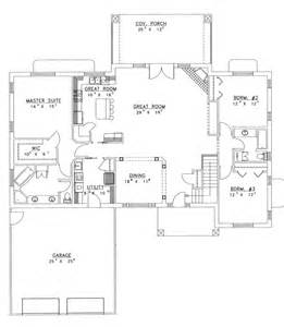 open floor plans for houses ranch house plans with open floor plan chanhassen ridge