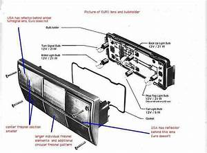 Image Result For Vw T25 Rear Light Cluster Diagram