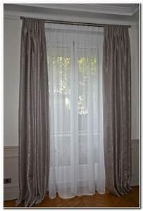 Rideaux Double Voilage : rideaux double voilage gris rideau id es de d coration de maison gkd07mdlw6 ~ Teatrodelosmanantiales.com Idées de Décoration