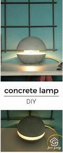 Lampen Selber Herstellen : betonlampe diy betonlampe selber machen gure pinterest basteln lampen selber machen und ~ Markanthonyermac.com Haus und Dekorationen