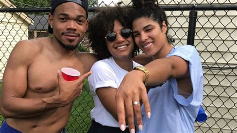 Chance The Rapper Just Got Engaged To His Girlfriend At A
