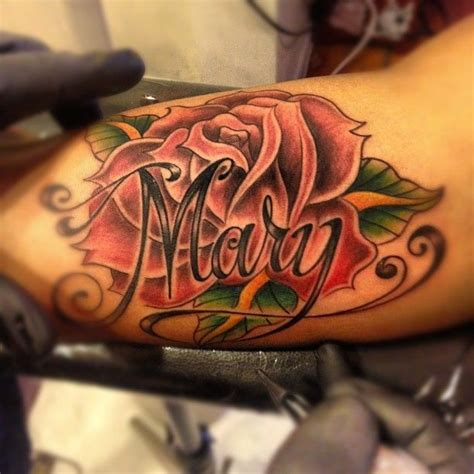 25 Best Ideas About Rose Tattoo With Name On Pinterest Heart With The Incredible Rose Tattoo
