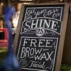 sandwich board ideas  style   salon marketing