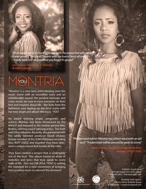 montria cosby media productions entertain  mind