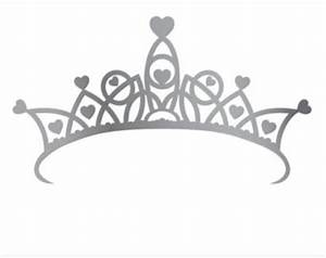 Silver Princess Crown Clipart - ClipartXtras