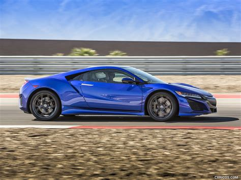 96 Acura Nsx by 2017 Acura Nsx Blue Side Hd Wallpaper 96 2560x1440
