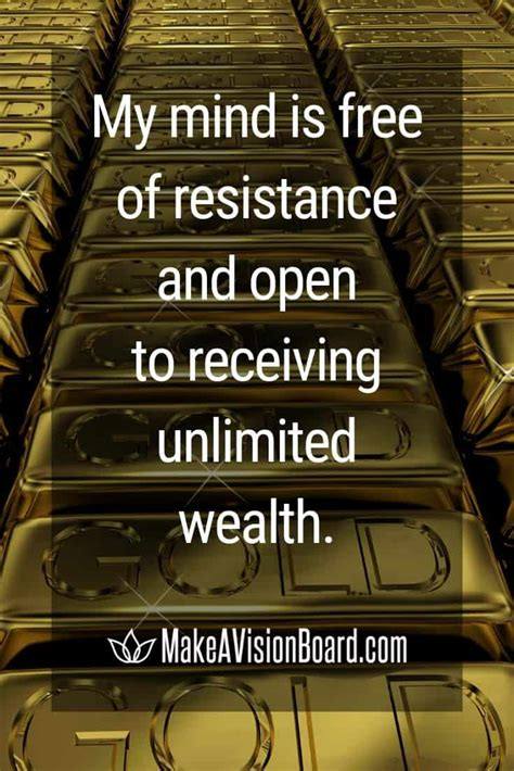 prosperity affirmations  wealth abundance