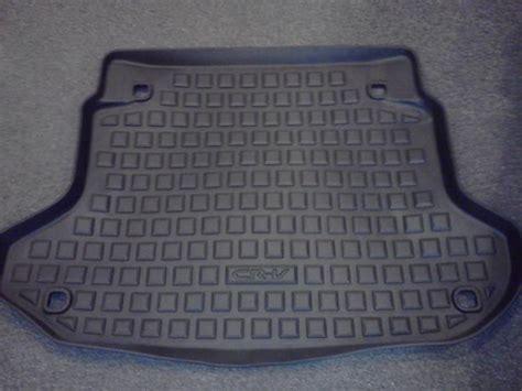honda crv all weather floor mats honda crv cr v cargo rear floor tray mat cover all weather