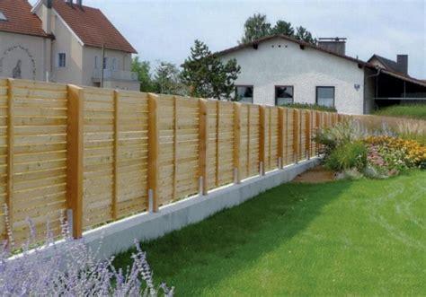Garten Sichtschutz Holz Befestigen by Sichtschutz Holz Waagrecht 68mm