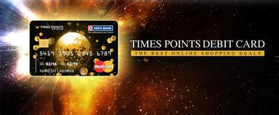 How much do debit card transactions cost to process? HDFC Times Points Debit Card - Minimum 10% discount on online shopping, lifestyle and dining ...
