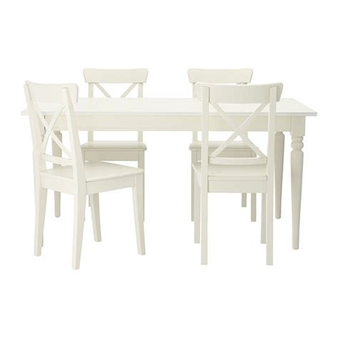 Ikea Dining Table And Chairs by Ingatorp Ingolf Table And 4 Chairs Ikea